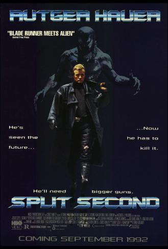 スプリット・セカンド(1992年) マスタープリント