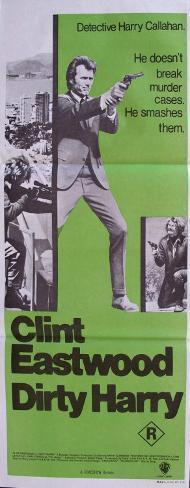 ダーティハリー(1971年) ポスター