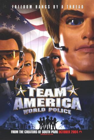 チーム★アメリカ/ワールドポリス(2004年) ポスター