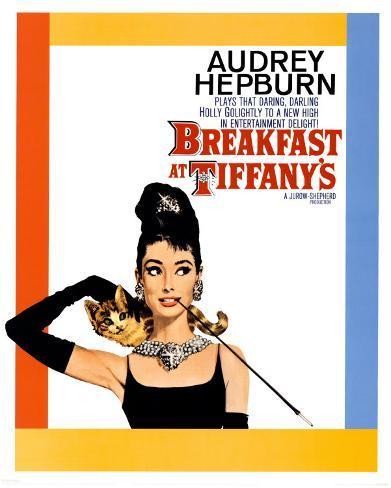 ティファニーで朝食を ミニポスター