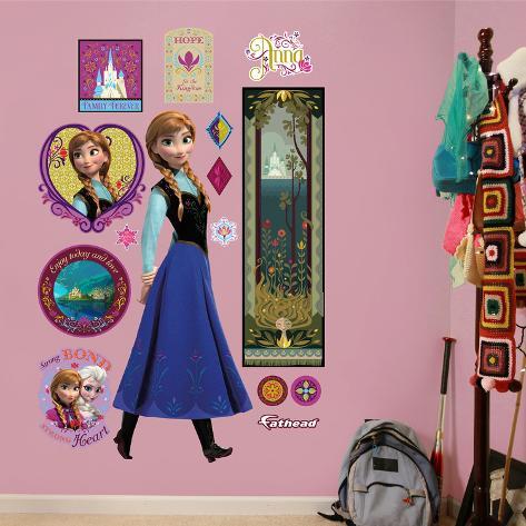 ディズニー アナと雪の女王 - アナ ウォールステッカーウォールステッカー・壁用シール ウォールステッカー