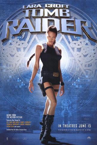 トゥームレイダー(2001年) マスタープリント