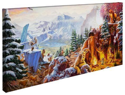 アイス・エイジ(2002年) Gallery Wrapped Canvas