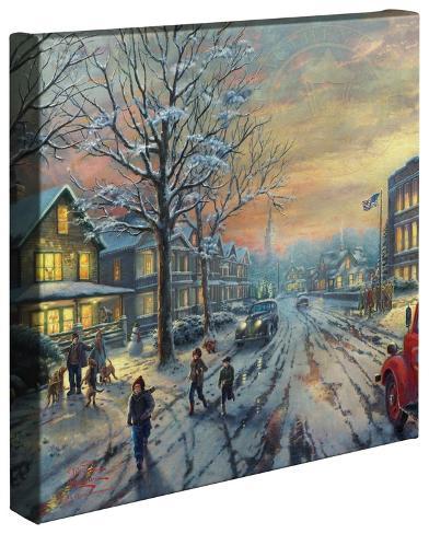 ア・クリスマス・ストーリー Gallery Wrapped Canvas