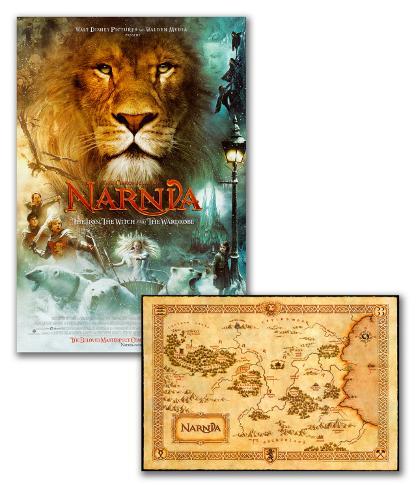 ナルニア国物語-アドバンス 両面印刷ポスター
