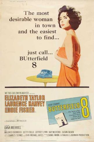 バターフィールド8(1960年) マスタープリント