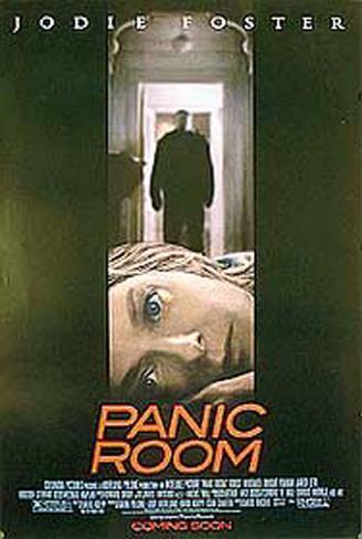 パニック・ルーム(2002年) 両面印刷ポスター