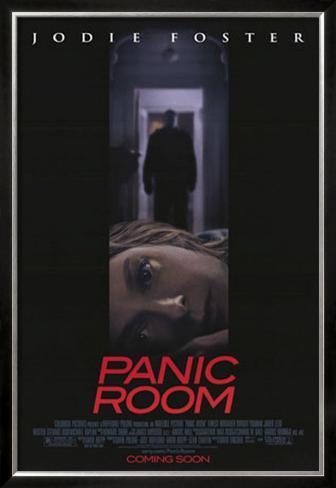 パニック・ルーム(2002年) 額入りポスター