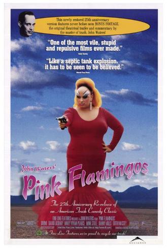 ピンク・フラミンゴ(1972年) ポスター