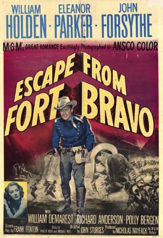 ブラボー砦の脱出(1953年) マスタープリント