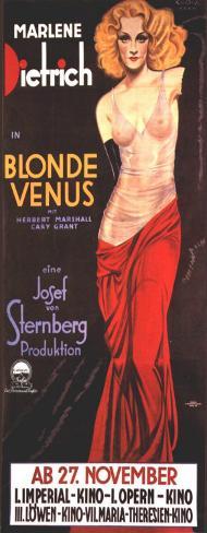 ブロンド・ヴィナス(1932年) ポスター