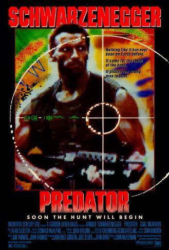 プレデター(1987年) ポスター