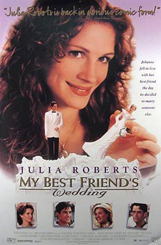 ベスト・フレンズ・ウェディング(1997年) オリジナルポスター