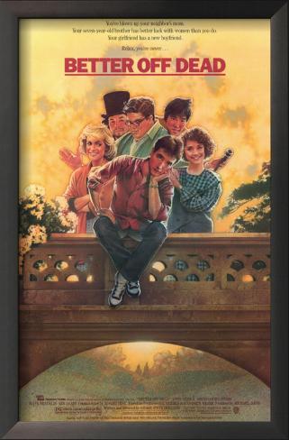 ベター・オフ・デッド(1985年) 額入りアートプリント
