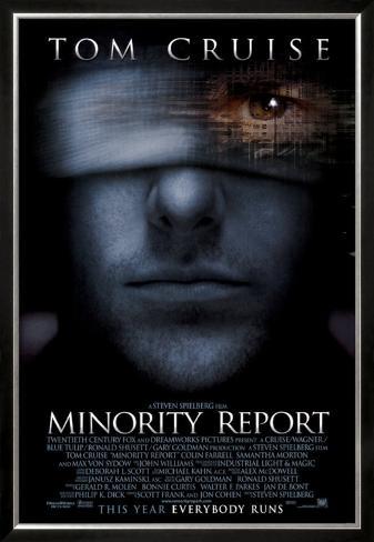 マイノリティ・リポート(2002年) 額入りポスター