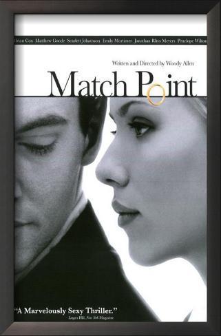 マッチポイント(2005年) 額入りアートプリント