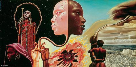 Miles Davis- Bitches Brew Album Art ポスター