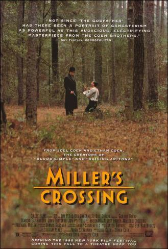 ミラーズ・クロッシング(1990年) ポスター