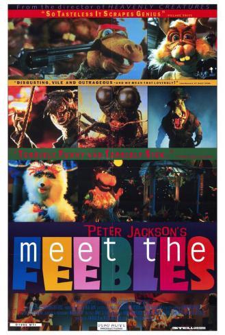 ミート・ザ・フィーブル 怒りのヒポポタマス(1989年) ポスター