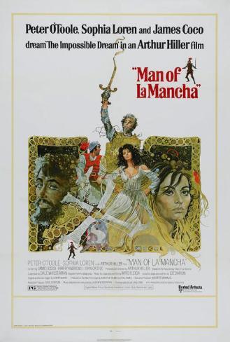 ラ・マンチャの男(1972年) ポスター