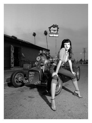オールポスターズの デイヴィッド ペリー 1950 s retro doll hut