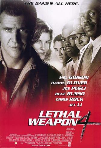 リーサル・ウェポン4(1998年) マスタープリント