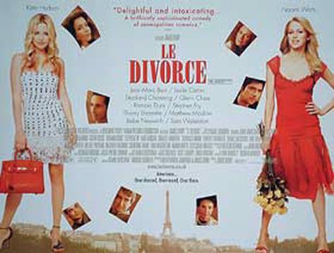 ル・ディヴォース/パリに恋して(2003年) オリジナルポスター
