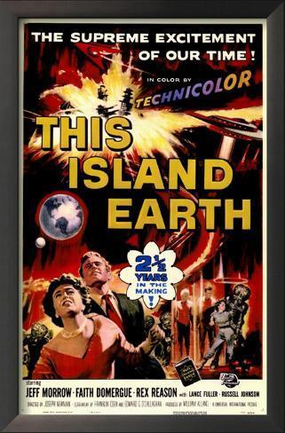 宇宙水爆戦(1955年) 額入りアートプリント