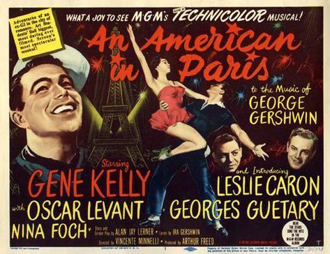 巴里のアメリカ人 ポスター