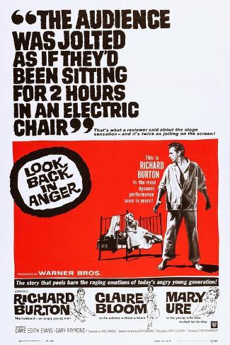 怒りを込めて振り返れ(1958年) アートプリント