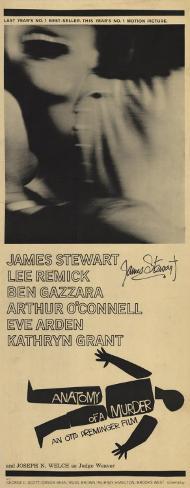或る殺人(1959年) ポスター