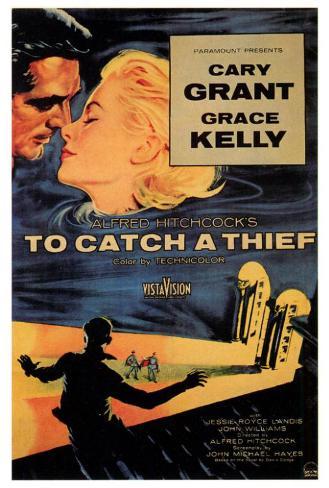 泥棒成金(1955年) ポスター