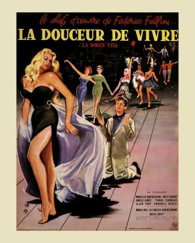 甘い生活(1960年) アートプリント