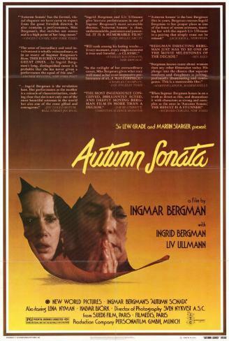秋のソナタ(1978年) マスタープリント