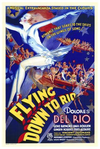 空中レヴュー時代(1933年) ポスター