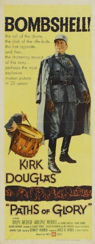 突撃(1957年) ポスター
