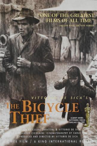 自転車泥棒 マスタープリント