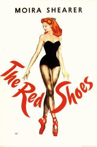 赤い靴 マスタープリント