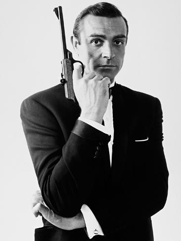 007, James Bond: Dr. No, 1962 Fotoprint