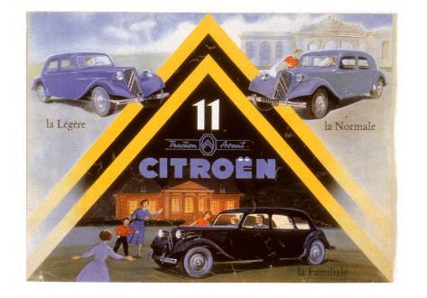 11 Citroen Art Print