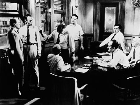 12 Angry Men, 1957 Photographic Print
