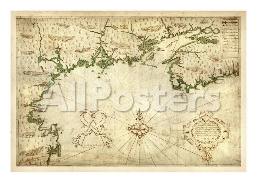 1607 Nova Scotia Maine Massachusetts New Hampshire North