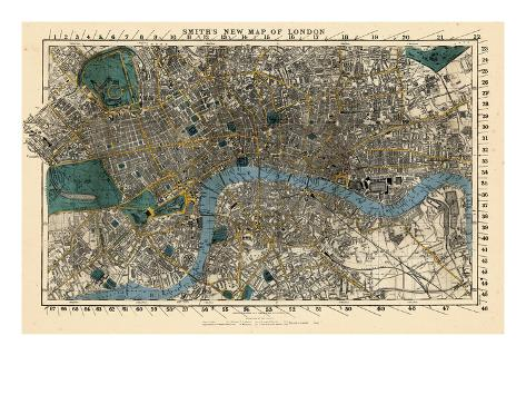 1860, England, London Giclee Print