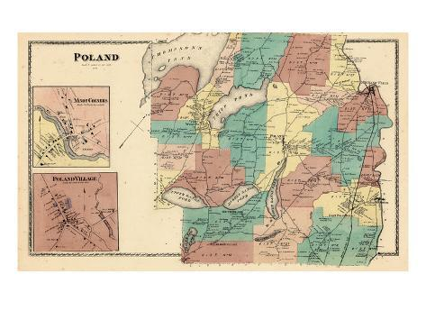 1873 Poland Maine United States Giclee Print At Allposters Com Au