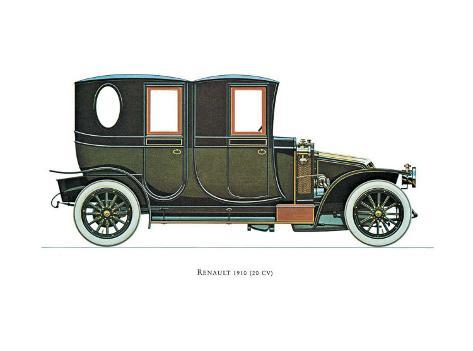 1910 Renault Art Print
