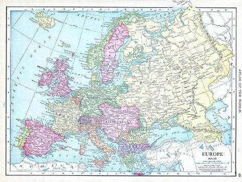 1913 Europe Giclee Print At Allposters Com Au