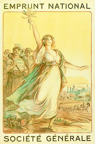 1920 Emprunt National Art Print