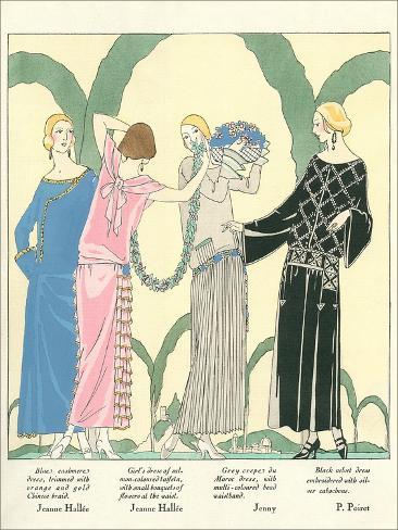 1920s Fashion Illustratiion Art Print