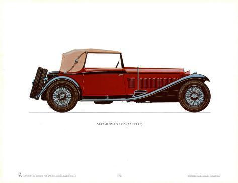 Alfa Romeo Posters At AllPosterscomau - Alfa romeo posters
