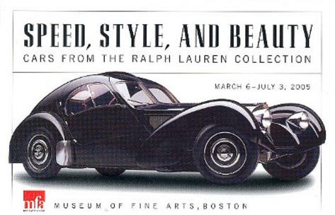 1938 Bugatti Type 57SC Atlantic Coupe POSTCARD Car Poster Card